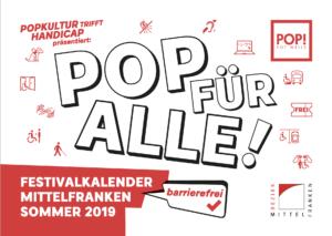 Frontseite des Kalenders POP FÜR ALLE