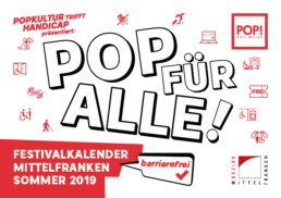 Pop für Alle Kalender 2019