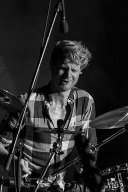 Matthias Bäuerlein am Schlagzeug