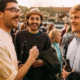 Das Soundsgood Team auf einem Festival