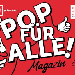 POP FÜR ALLE MAGAZIN Titelgrafik