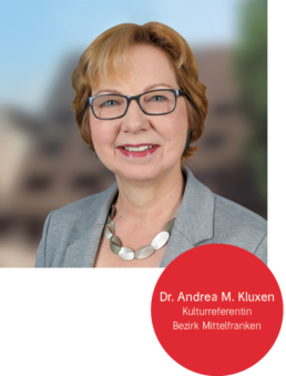 Dr. Andrea Kluxen, Kulturreferentin Bezirk Mittelfranken