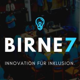 Das Logo von Birne7