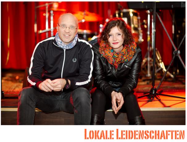 Andreas Basner, Lisa Hübner von Lokale Leidenschaften, Radio Z