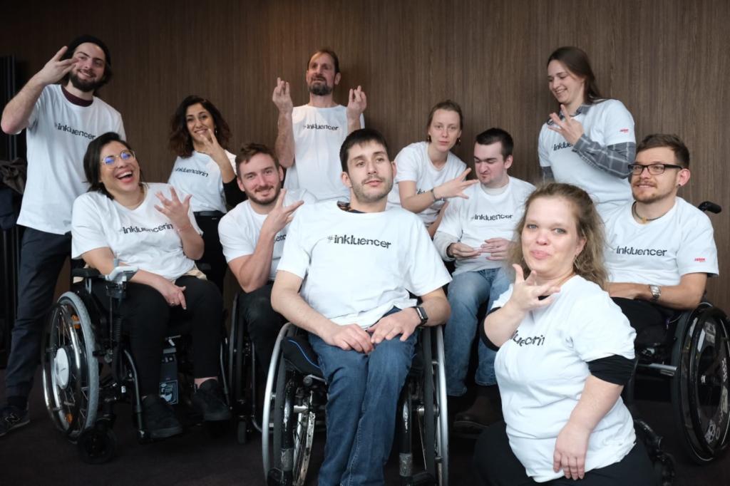 Das Team der Initiative Barrierefrei Feiern