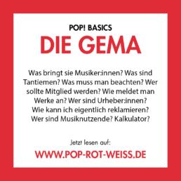 GEMA-Basics